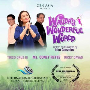 Wanda's Wonderful World gets its 1st Best Screenplay nomination at the ICFF