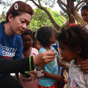 Operation Blessing Reached Out to the Dumagat Tribe in Sierra Madre