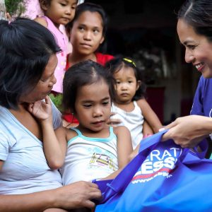 The 700 Club Asia Hosts visited Community of Hope Beneficiaries