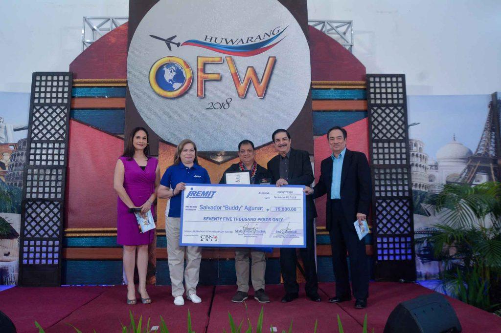 5 Huwarang OFW 2019