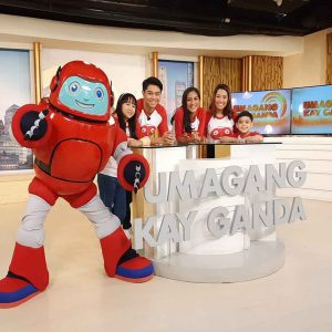 Gizmo Brings an Exciting News in ABS-CBN's Umagang Kay Ganda!