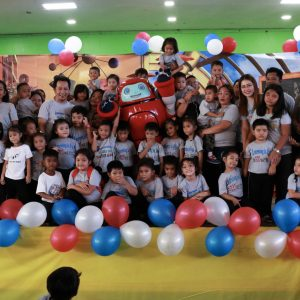 Values education in Masbate Learning is Fun Children's Center is Super Fun with Superbook!