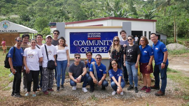 Pamilya Maleta and Operation Blessing Bring Families Together In Leyte