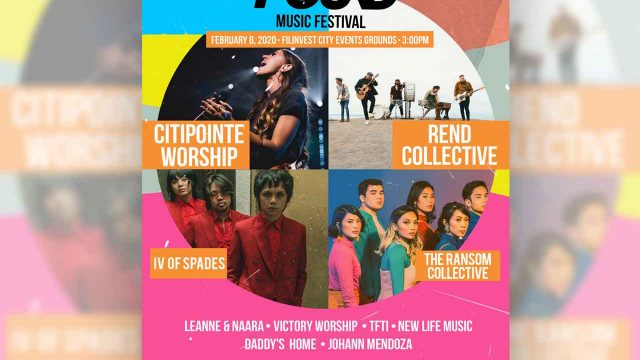 Manila's Biggest Christian Music Fest Underway this Feb 2020