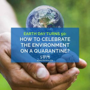 Earth Day Turns 50: How to Celebrate the Environment on a Quarantine?