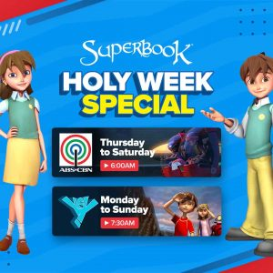 Celebrate Holy Week at Home with Superbook
