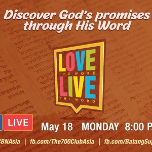 "Discover God's promises in ""Love the Word, Live the Word"""