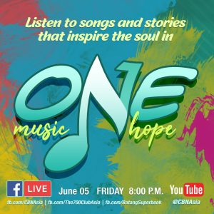 "Listen to Songs and Stories that Inspire the Soul in ""One Music One Hope!"""