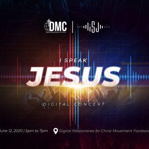 Praise over Pressure: Lift God's Name in #iSpeakJesus online concert!