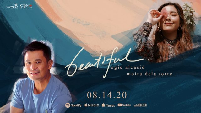"""Ogie and Moira's Latest Single """"Beautiful"""" out on August 14!"""