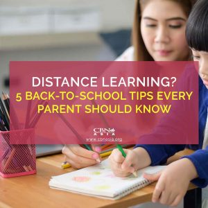 Distance Learning? 5 Back-to-school Tips Every Parent Should Know