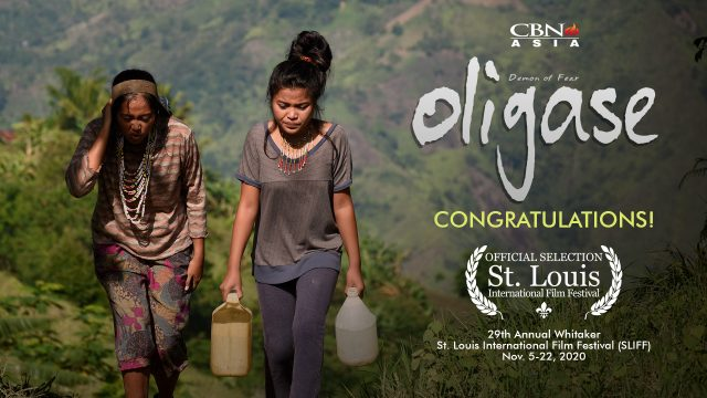 CBN Asia's Oligase makes it to the 29th St. Louis International Film Festival!