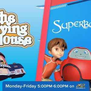 Superbook and The Flying House are Back on TV!