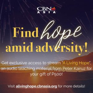 """Praying for a Hope-filled 2021? Here's """"A Living Hope"""" Audio Teaching for You!"""