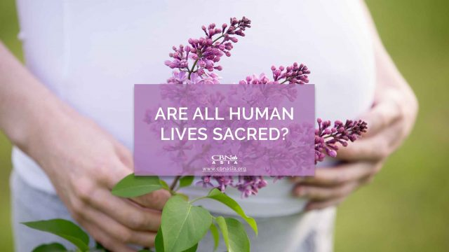 Are All Human Lives Sacred?