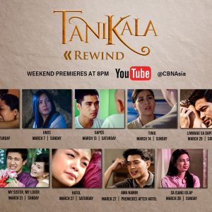 """Looking for Good Films to Binge-Watch on YouTube? CBN Asia Presents """"Tanikala Rewind"""""""