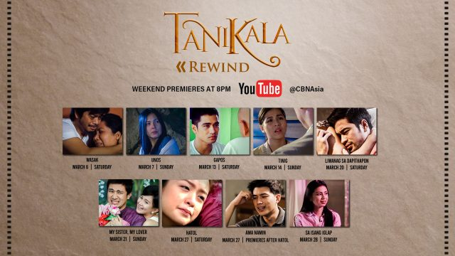 "Looking for Good Films to Binge-Watch on YouTube? CBN Asia Presents ""Tanikala Rewind"""