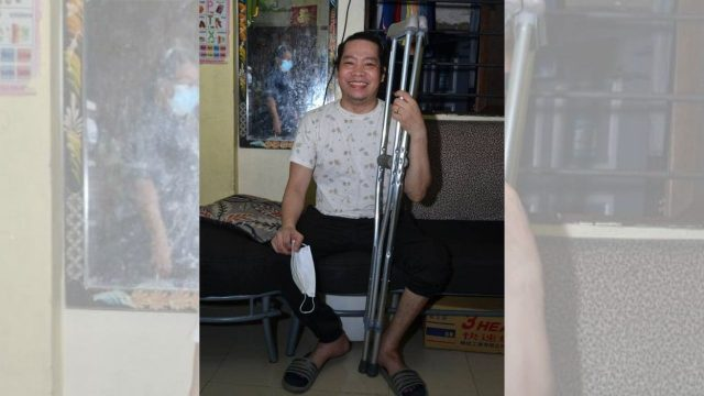 Here's How You are Helping a Father Walk Again!