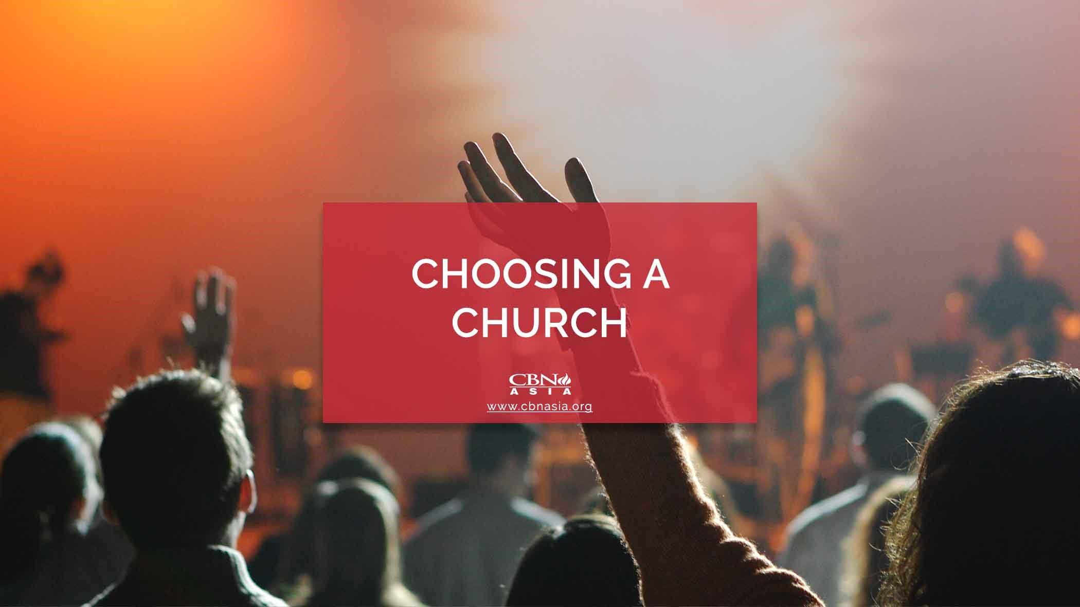choosing a church - why join a church