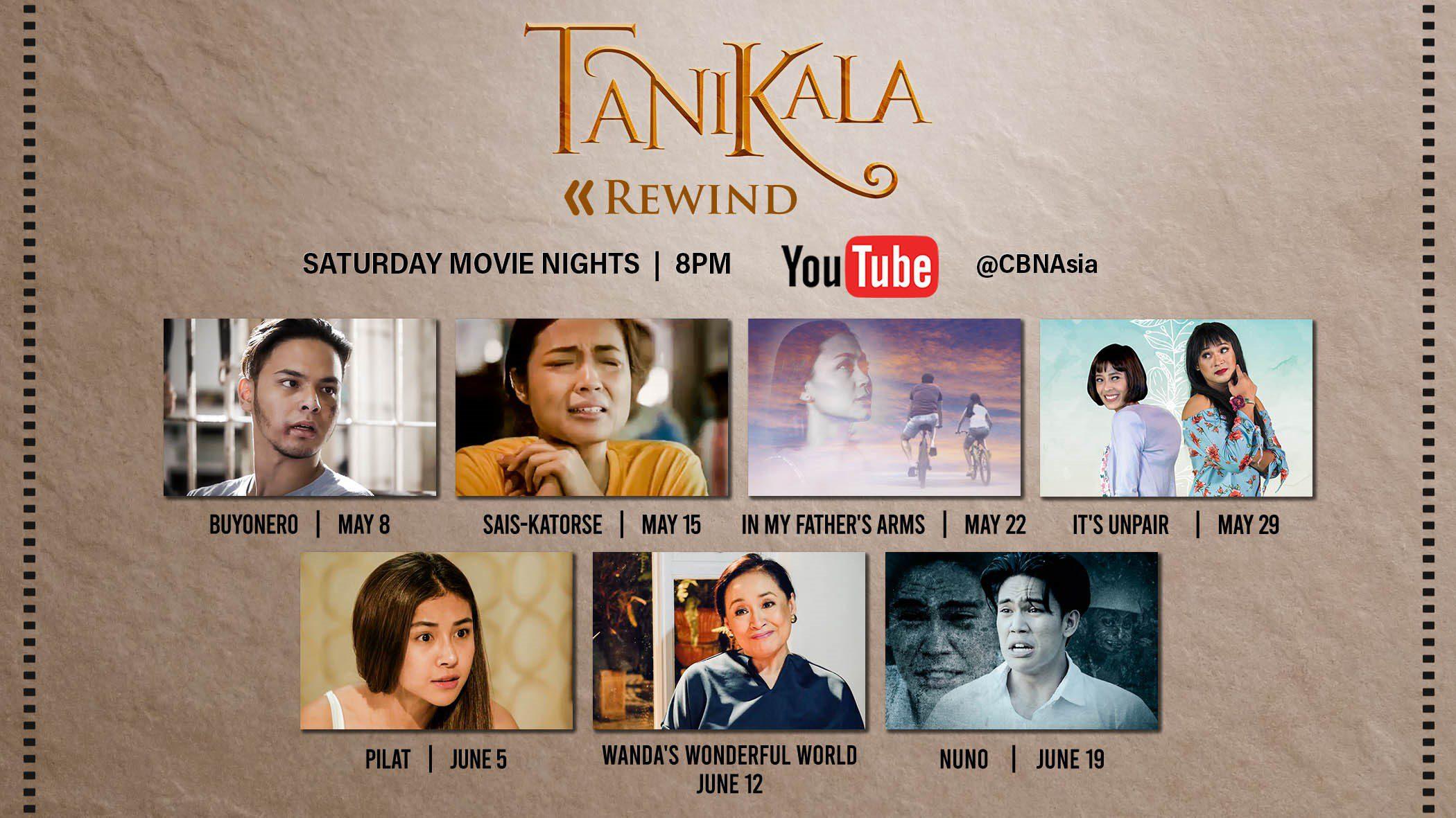 inspiring filipino films - Tanikala rewind