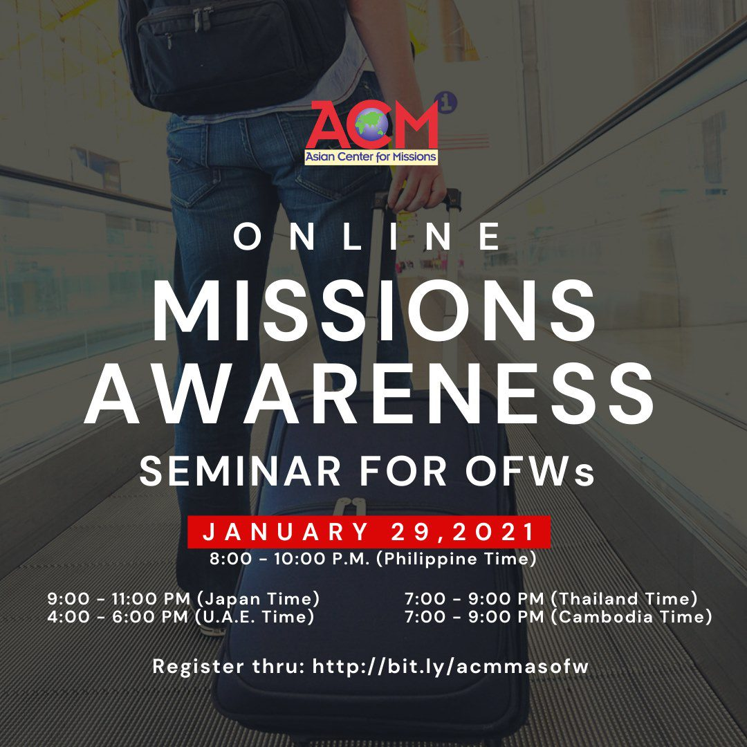 missions awareness seminar
