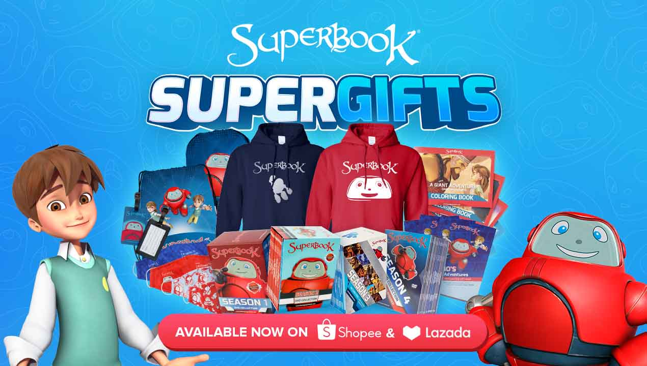 Your Favorite Superbook SuperGifts are Now Available on Shopee and Lazada!