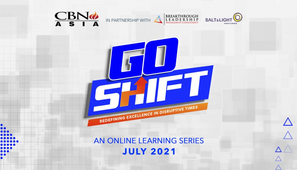 Ready to Thrive in the New Normal Register to GoShift Online Learning Series!