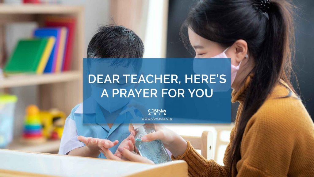 10052020_Dear Teacher, Here's a Prayer for You