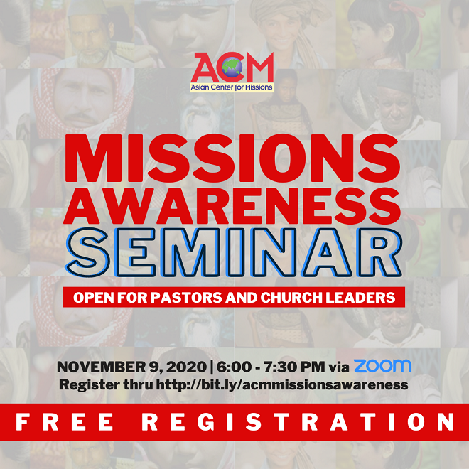 11042020_Missional amid Pandemic ACM Opens Free Missions Awareness Seminars