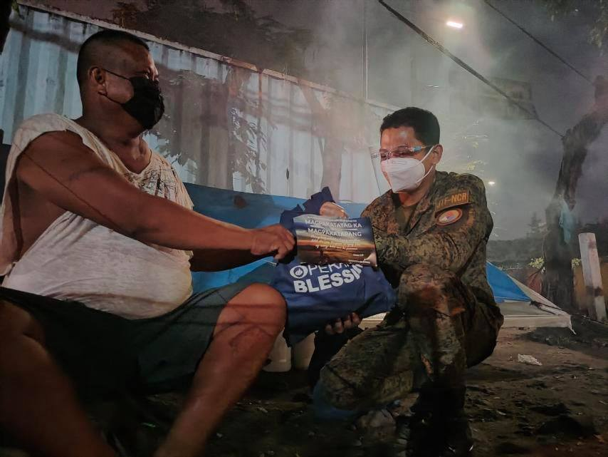 Operation Blessing Relief for Homeless kababayans 3